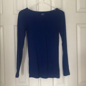 Royal Blue basic tee from J Crew
